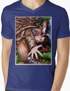 10th Mens V-Neck T-Shirt
