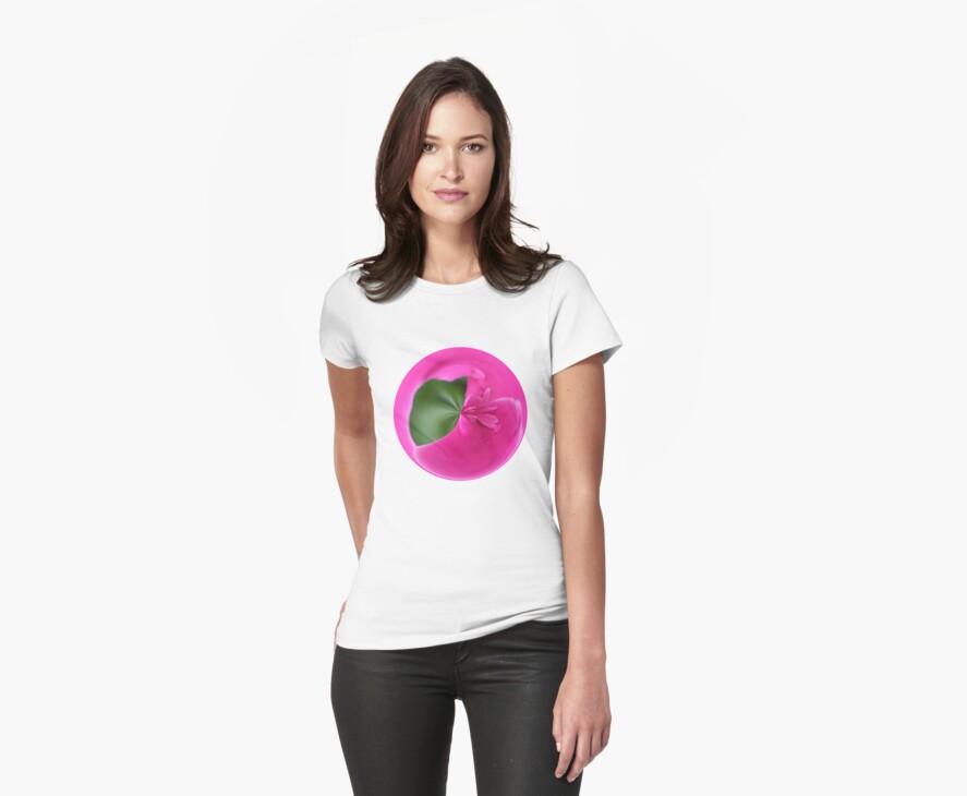 Pleated - Amazing Circle T-shirt by Judi FitzPatrick