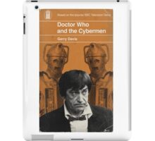 Doctor Who and the Cybermen - Penguin style iPad Case/Skin
