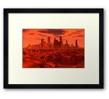 Red Dwarf Greeb Framed Print