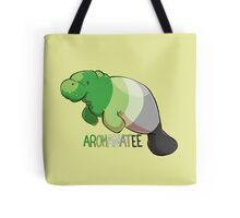 Aromanatee - with text Tote Bag