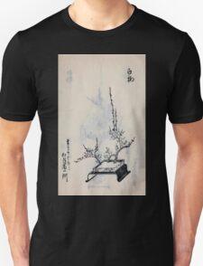 Yenshu ryu ikebana hiak bin no zu shiki konzatsu Flower arrangement in the Enshu style V2 1897 0029 T-Shirt