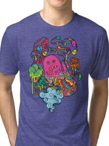Pop Monster Color Tri-blend T-Shirt