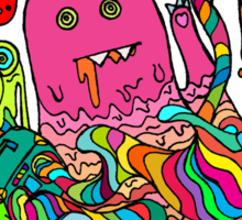 Pop Monster Color Sticker