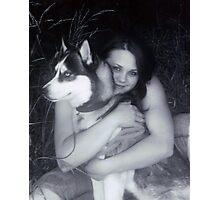 Indigo and Chantel Photographic Print