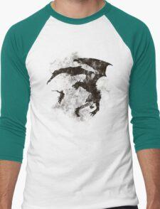 Dragonfight-cooltexture B&W T-Shirt