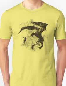 Dragonfight-cooltexture B&W T-Shirt