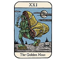 The Golden Nose Photographic Print