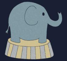 Circus Elephant One Piece - Long Sleeve