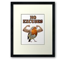Strong birdie Framed Print