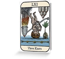 Three Knots Greeting Card