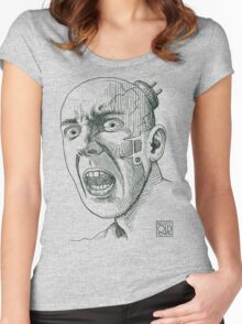 Techno Terror Women's Fitted Scoop T-Shirt