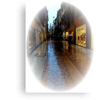 Wet Marble Streets of Verona II Canvas Print