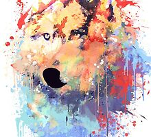 Wolf Paint by alyphoto