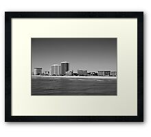 From the Water - Myrtle Beach, South Carolina Framed Print