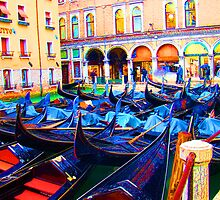 Parking In Venice by Al Bourassa