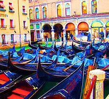 Parking In Venice by Al Bourassa