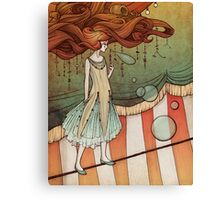 The tight-rope walker Canvas Print