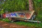 Boat with no tires... by Bill Wetmore