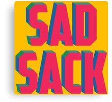 Sad Sack Canvas Print