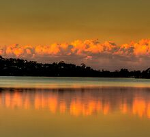 Mirror - Narrabeen Lakes, Sydney - The HDR Experience by Philip Johnson