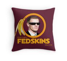 Washington Fedskins Throw Pillow