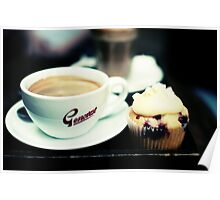 coffee and cupcakes Poster