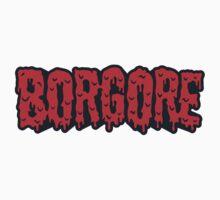 Borgore Logo Blood by Stevod