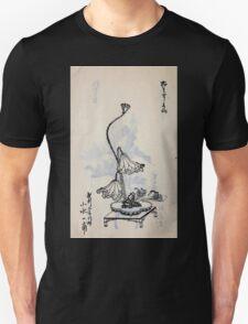 Yenshu ryu ikebana hiak bin no zu shiki konzatsu Flower arrangement in the Enshu style V2 1897 0050 T-Shirt