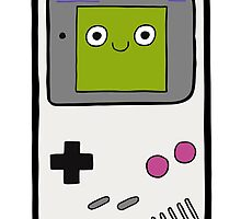 Retro Gameboy Character by evannave