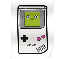 Retro Gameboy Character Poster