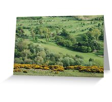 Prestonfield golf course Greeting Card