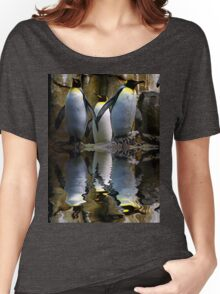 King Penguin, Antarctic, Montreal Biodome Women's Relaxed Fit T-Shirt