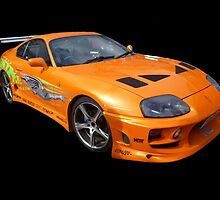Toyota Supra by Vicki Spindler (VHS Photography)