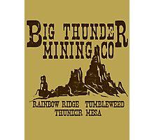 Big Thunder Mining Co Photographic Print