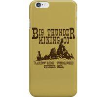 Big Thunder Mining Co iPhone Case/Skin