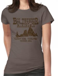 Big Thunder Mining Co Womens Fitted T-Shirt