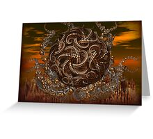 adventures of beasts  Greeting Card