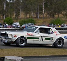 Big Pete Geoghegan 1967 Ford Mustang by TGrowden