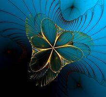 Mermaid's Corsage by Sandra Bauser Digital Art