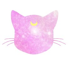 Meow? Luna - Pink Galaxy by agShop