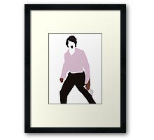 Scream for the people Framed Print