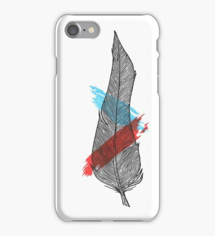 Bigger Feather iPhone Case/Skin