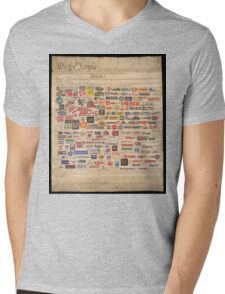 We the people  Mens V-Neck T-Shirt