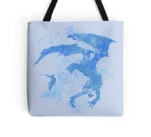 Dragonfight-cooltexture Inverted Tote Bag