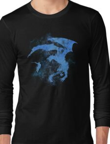 Dragonfight-cooltexture Inverted Long Sleeve T-Shirt