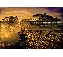 Gone But Not Forgotten, West Pier Brighton Photographic Print