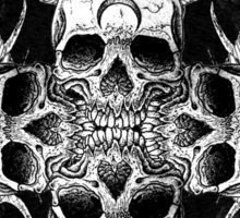 Radial Skull Sticker