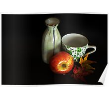 autumn tea party Poster