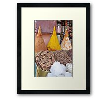 Spices - Marrakech Framed Print